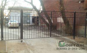 ворота и калитка сварные