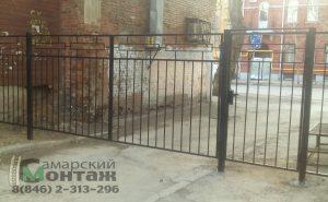 сварной забор ворота
