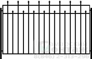Стоимость сварной забор