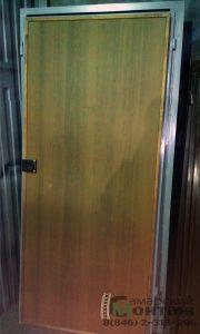 облицовка на металлической двери