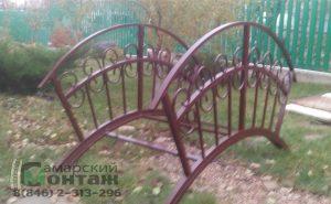 мостик декоративный садовый