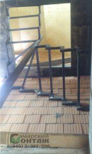 сварной каркас лестницы