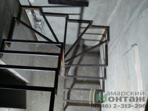 забежные ступени лестницы