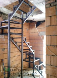 лестница сварная металлическая