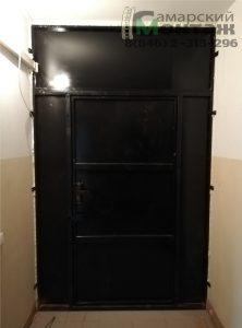 тамбурная дверь без облицовки
