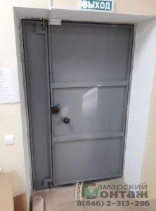 двустворчатая дверь подъездная