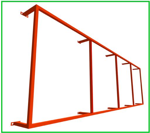 Стоимость конструкции под баннер