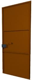 дверь металлическая сварная