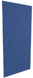 дверь синяя входная