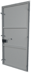 дверь сварная техническая