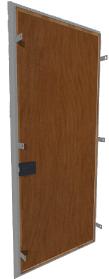 дверь стальная с облицовкой