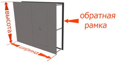 размеры ворот гаражных